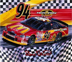 NASCAR Artwork - #94 by Marc Lacourciere