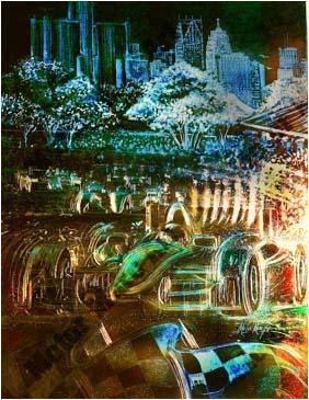 Grand Prix Artwork by Marc Lacourciere