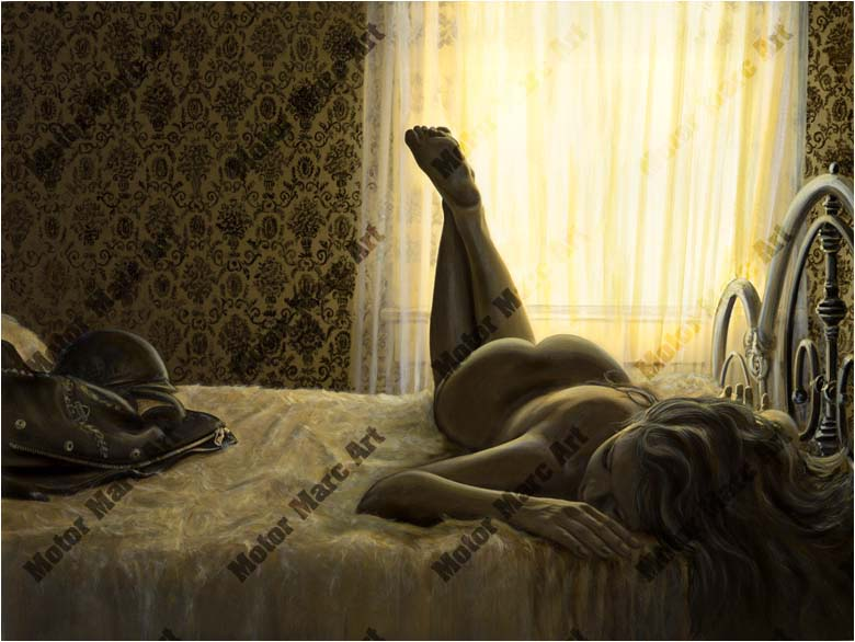 Boudoir Artwork - Morning Ride by Marc Lacourciere
