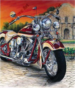 Motorcycle Artwork by Marc Lacourciere