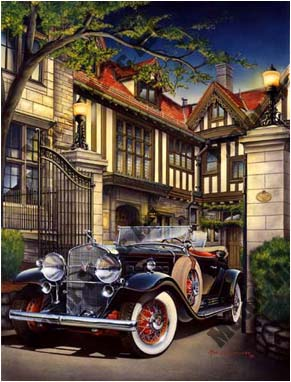Classic Car Artwork by Marc Lacourciere