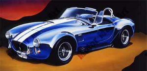 Sportscar Artwork by Marc Lacourciere