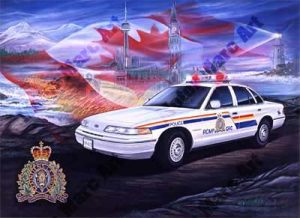 Police Artwork by Marc Lacourciere