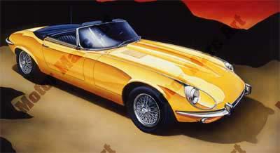 Jaguar Artwork by Marc Lacourciere