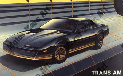 Trans AM Artwork by Marc Lacourciere