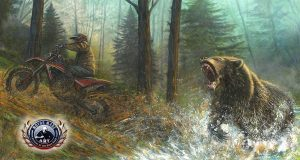 Motorcycle Artwork - Wildlife Series by Marc Lacourciere