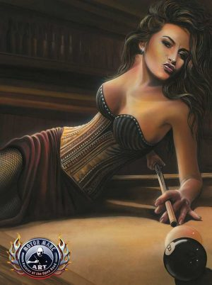 Boudoir Artwork - Corner Pocket by Marc Lacourciere