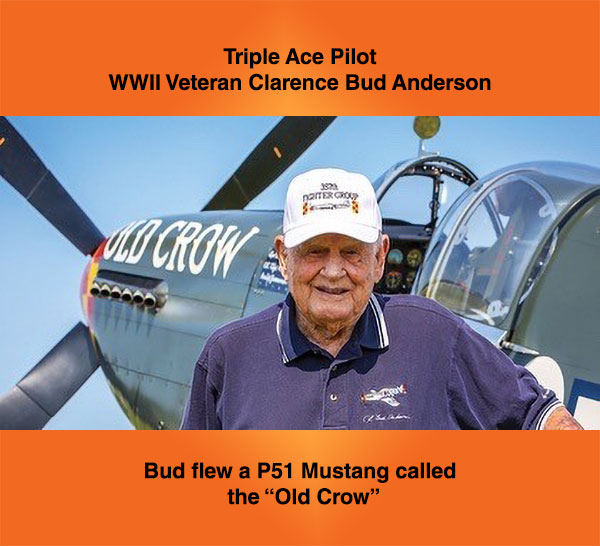 """Bud Andereson, the """"Old Crow"""""""