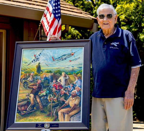 WWII Veteran Clarence Bud Anderson
