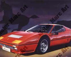 Ferrari Artwork by Marc Lacourciere