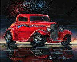 Hot Rod Artwork by Marc Lacourciere