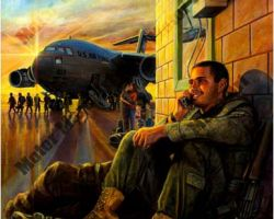 Military Artwork by Marc Lacourciere