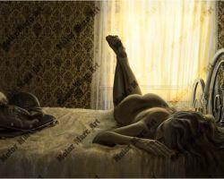 Boudoir Artwork - Morning Ride by Marc Lacourciere
