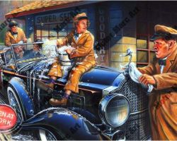 Three Stooges Artwork by Marc Lacourciere