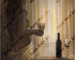 Boudoir Artwork - Taste of Passion by Marc Lacourciere