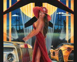 Exotic Car Artwork - The Elite by Marc Lacourciere
