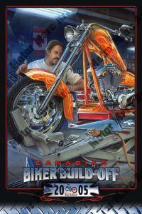 Motorcycle Artwork - Biker Build-off by Marc Lacourciere
