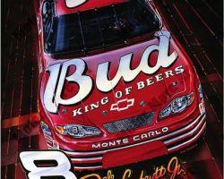 NASCAR Artwork - Dale Earnhardt by Marc Lacourciere