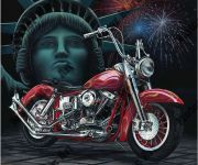 Motorcycle Artwork by Marc Lacourciere