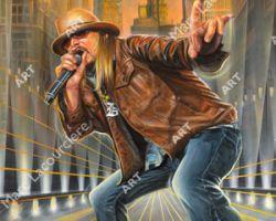 Kid Rock Artwork - Portrait by Marc Lacourciere