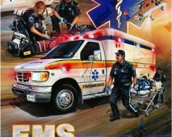 Ambulance Artwork by Marc Lacourciere
