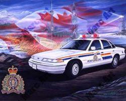 Police Artwork by Marc Lacourciere