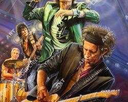 Rolling Stones Artwork - Portrait by Marc Lacourciere