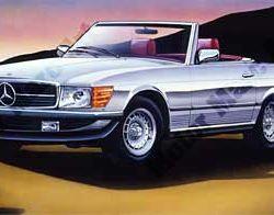 Mercedes Artwork by Marc Lacourciere