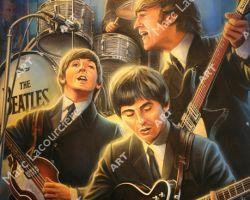 Beatles Artwork - Portrait by Marc Lacourciere